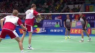 Download M.Boe/C.Mog. v M.Ahsan/H.Setiawan  MD-F  Wang Lao Ji BWF World Champ. 2013 Video
