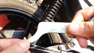 Download DICA! como efetuar a regulagem do amortecedor traseiro - CG 150 Titan Video