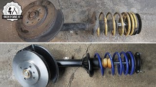 Download BMW E30 Front Struts Restoration | BMW E30 325i Sport Restoration S1 E1 Video