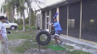 Download Yoenis céspedes entrenamiento en casa 2017 Video