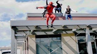 Download Deadpool Parkour Video