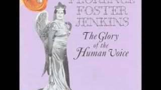 Download Florence Foster Jenkins - Queen of the Night by Mozart. Video