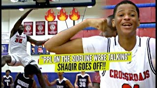 Download ″Ppl On The Sideline Were Talking″ So Shaqir O'Neal Goes CRAZY w/ 9 Threes! CRAZY POSTER!! Video