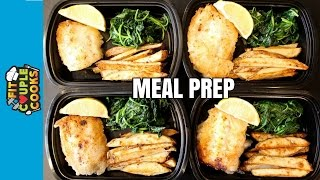 Download How to Meal Prep - Ep. 39 - FISH AND CHIPS ($3/Meal) Video