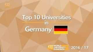 Download Top 10 Universities in Germany 2016/17 Video