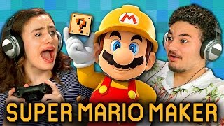 Download SUPER MARIO MAKER (Teens React: Gaming) Video