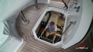 Download Hatteras 60 Motor Yacht Engine Room 2012- By BoatTest Video