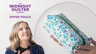 Download DIY Quilted Zipper Pouch   The Midnight Quilter Presents: Holiday Gift-Along Series! Video