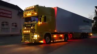 Download 2018 Scania R730 V8 Power Amazing (SOUND)-(Acceleration) (Holland Style) Yellow Edition Video