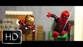 Download Spider-Man Homecoming Trailer in LEGO Video