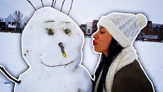 Download CRAZY SNOW STORM! - VLOG #36 - Video