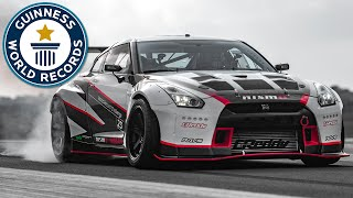 Download Fastest Drift - Nissan Middle East FZE sets world record Video