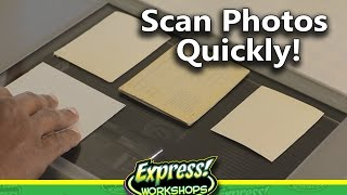 Download How to Scan a large number of Photos Quickly in Photoshop! Video