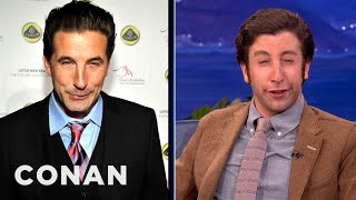 Download Simon Helberg Channels Nic Cage, Billy Baldwin & Ben Stiller - CONAN on TBS Video