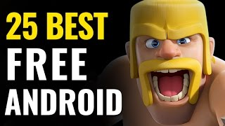 Download Top 25 Best Free Android Games Video