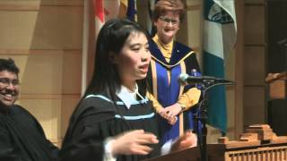 Download 2015 UBC Graduation Speech/Rap - Mira Leung Video
