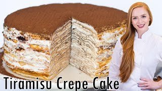 Download Tiramisu Crepe Cake Video