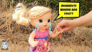 Download Baby Alive tries to find her mommy Video