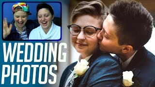 Download Gay Couple Sees Wedding Photos For First Time :) Video