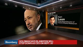 Download Goldman Sachs Names Solomon to Succeed Blankfein as CEO Video