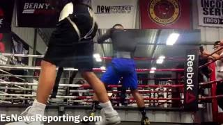 Download Abner Mares in camp for Cuellar - esnews boxing Video