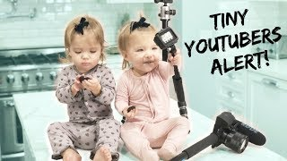 Download ONE YEAR OLD BABY VLOGGERS *SO FUNNY* Video