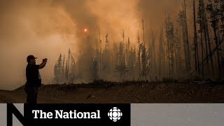 Download Apocalyptic scenes in B.C. wildfire zones Video