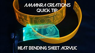 Download Ammnra Quick Tip: Heat Bending Sheet Acrylic Video
