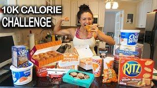 Download 10K Calorie Challenge | Girl VS food | Epic Cheat Day | Ashley Nocera Video