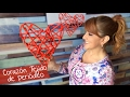 Download Corazón Tejido de Periódico :: Chuladas Creativas Video