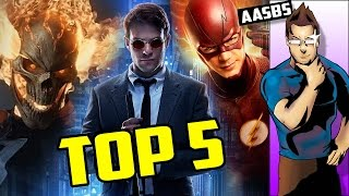 Download Top 5 Current Superhero Shows - Ask Armin Some BS Video