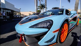 Download RARE 1 OF 10 MCLAREN MSOX SHOWS UP AT... Video