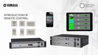 Download Yamaha MTX/MRX Accessory Controller - Introduction Video