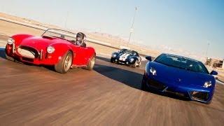 Download Factory Five Kit Cars vs a Lamborghini Gallardo! - HOT ROD Unlimited Episode 27 Video