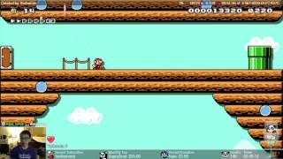 Download Super Mario Maker - Ultra Star '88 [Sadistic Level] Video