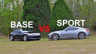 Download Base Model VS Sports Package 370z comparison. Video