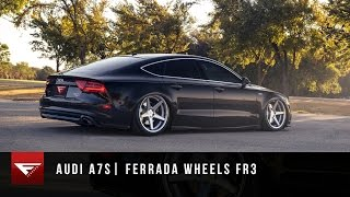 Download 2014 Audi A7 | Ferrada Wheels FR3 in Machine Silver | Bagged Audi A7 | Air Ride Video