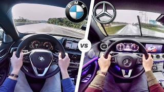 Download BMW 5 Series 2017 G30 vs Mercedes Benz E Class 2017 POV Test Drive by AutoTopNL Video