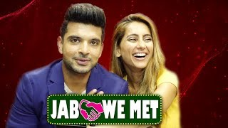 Download Jab We Met #Seg29 With Karan Kundra & Anusha Dandekar | Telly Reporter Exclusive Video