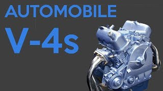 Download The Only 6 Automobile V-4 Engines To Exist Video