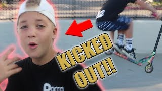 Download ROCCO GETS KICKED OUT OF THE SKATE PARK! Video