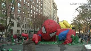 Download Time Lapse: Inflating Macy's Parade Balloons Video