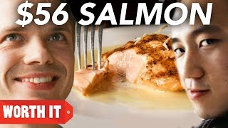 Download $8 Salmon Vs. $56 Salmon Video