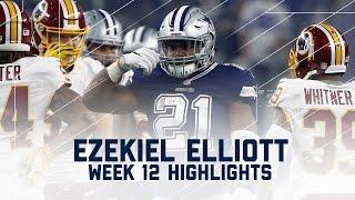 Download Ezekiel Elliott's 2 TD Day! | Redskins vs. Cowboys | NFL Week 12 Player Highlights Video