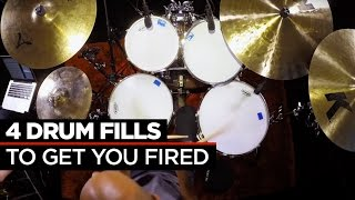 Download 4 Crazy Fast Drum Fills | Buddy Rich & Dennis Chambers Video