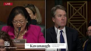Download Kavanaugh rejects classmate's 'belligerent' characterization of college years Video