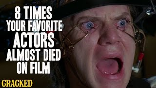 Download 8 Times Your Favorite Actors Almost Died On Film Video