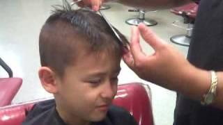 Download Mohawk HairCut - 1st Grader Video