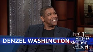 Download Denzel Washington's Dinner Table Has Seen Some Legends Video