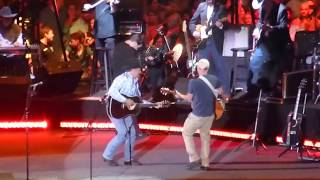 Download George Strait & Kenny Chesney - The Fireman (Dallas 06.07.14) HD Video